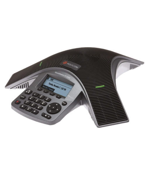 Polycom SoundStation IP 5000 is a high-quality and affordable conference phone for small rooms and executive offices